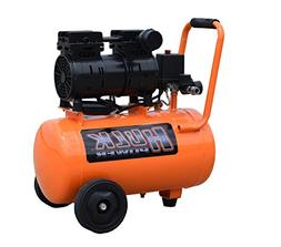 1 HP Quiet Portable Air Compressor, 120 PSI, 6 Gallon, HULK