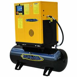 EMAX 10-HP 80-Gallon Rotary Screw Air Compressor