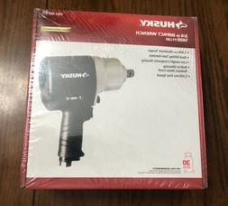 """Husky 3/4"""" Air Impact Wrench 1400 FT-LBS Max Torque 197691-2"""