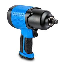 Neiko 30128A Composite Air Impact Wrench, 1/2-Inch Square Dr