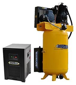 5 HP Quiet Air Compressor Package, 1-Phase, 2-Stage, 80-Gall
