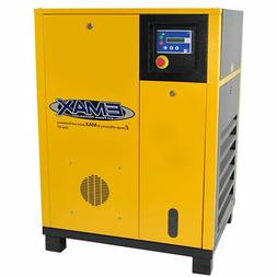 EMAX 5-HP Tankless Rotary Screw Air Compressor