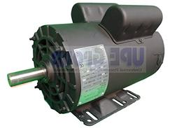 5HP 21 Amp 3450 RPM Electric Motor For Air Compressor 56 Fra