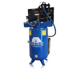 5HP Quiet Single Phase 2 Stage 80 Gallon Tank Vertical Air C