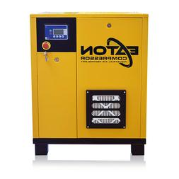 5HP Rotary Screw Air Compressor Single Phase Dual Volt Fixed
