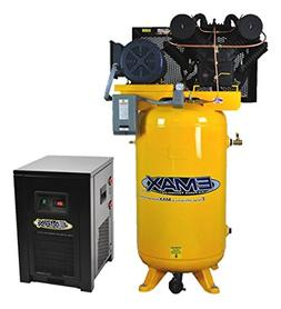 7.5 HP Air Compressor Package with 30 CFM Air Dryer, 1 PH, 8