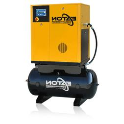 7.5HP Rotary Screw Air Compressor with 60 Gallon Tank 3 Phas