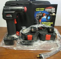 ONTEL Air Hawk Pro Automatic Cordless Tire Inflator Portable