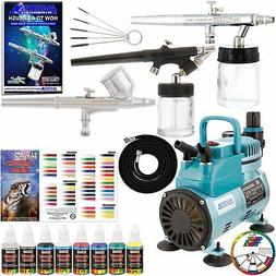Master Pro Airbrush Multi-Purpose Airbrushing System with 3