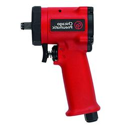 """Chicago Pneumatic CP7731 3/8"""" Stubby Impact Wrench, Red"""