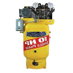 EMAX EP10V080V1 10 HP 1-Phase 80 Gallon Industrial Plus Vert