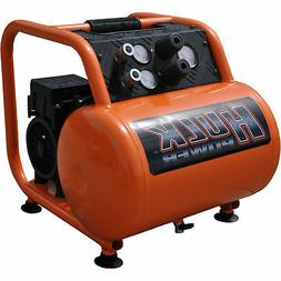 1.5 HP Quiet Portable Air Compressor, 125 PSI, 5 Gallon, HUL