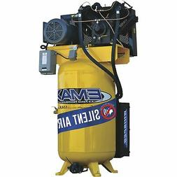 EMAX Industrial 80Gal. 10HP,2Stage, Air Compressor w/Silence