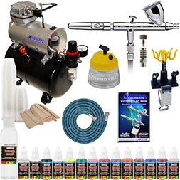 IWATA HP-CS Eclipse Airbrush Kit With Master Airbrush Tank C