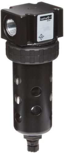 Parker 05F12AA Compressed Air Filter, Removes Particulate, P