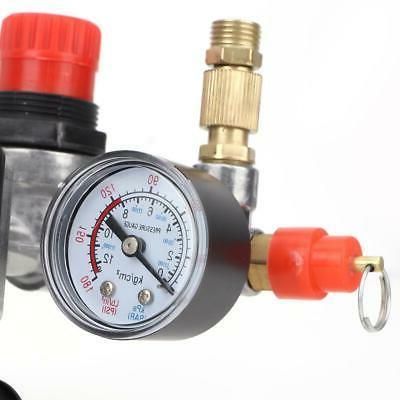 120PSI Air Compressor Pressure Switch Control Gauges Fittings