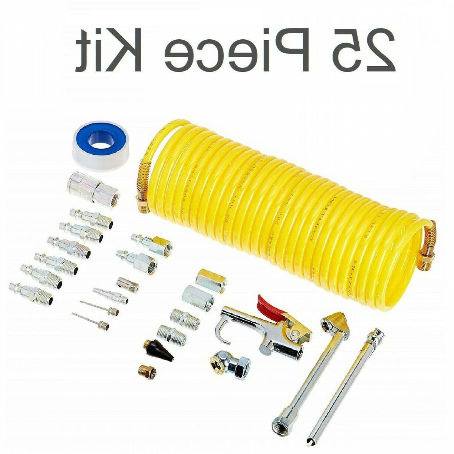 AIR COMPRESSOR ACCESSORY KIT Recoil Airhose Essential Access