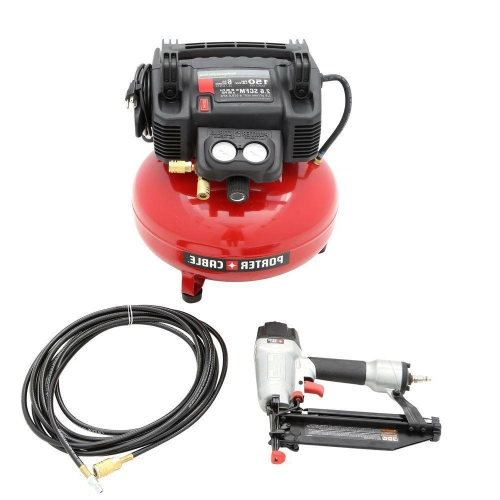 PORTER-CABLE PCFP12234 3-Tool Kit with Portable Compressor