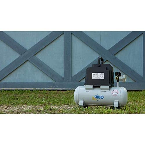 Quipall 2-.33 Compressor, gallon,Steel Tank