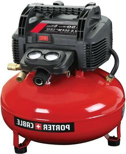 Porter-Cable Portable Electric Pancake Air Compressor 6 Gall