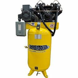 EMAX Silent 80Gal.10 HP, 2-Stage Air Compressor-230V, 1Phase