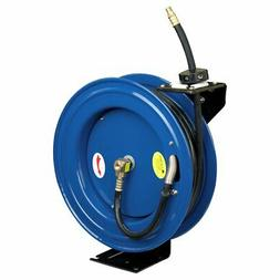 Cyclone Pneumatic 3/8-Inch x 50-Ft Retractable Air Hose Reel